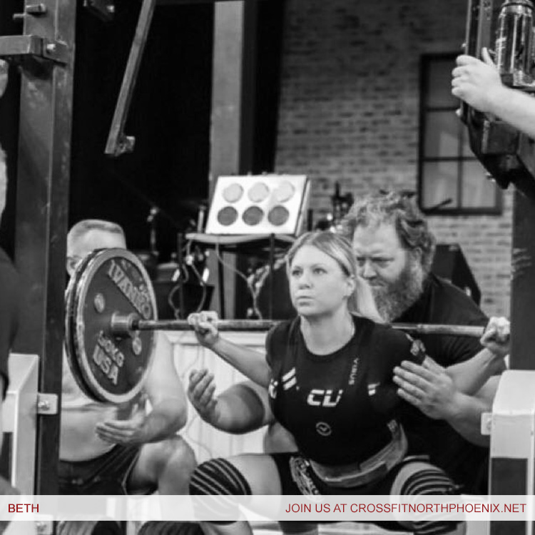 CrossFit Phoenix Trainer Beth Goodson