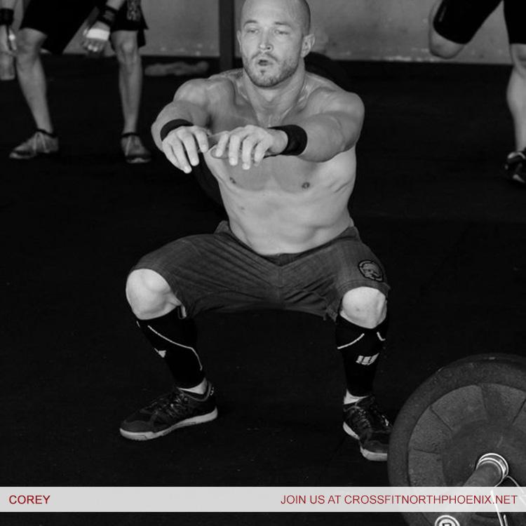 CrossFit Phoenix trainer corey