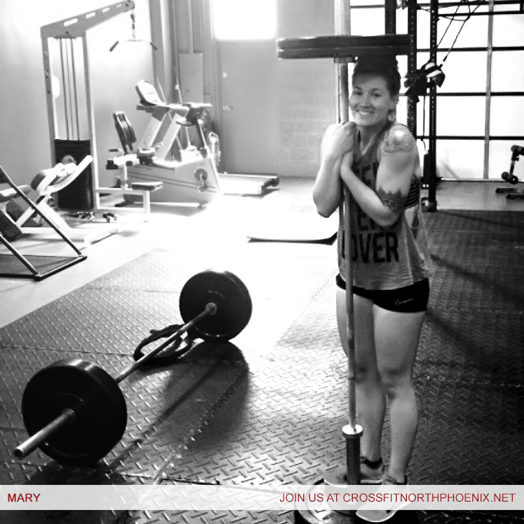 Trainer Phoenix CrossFit Mary