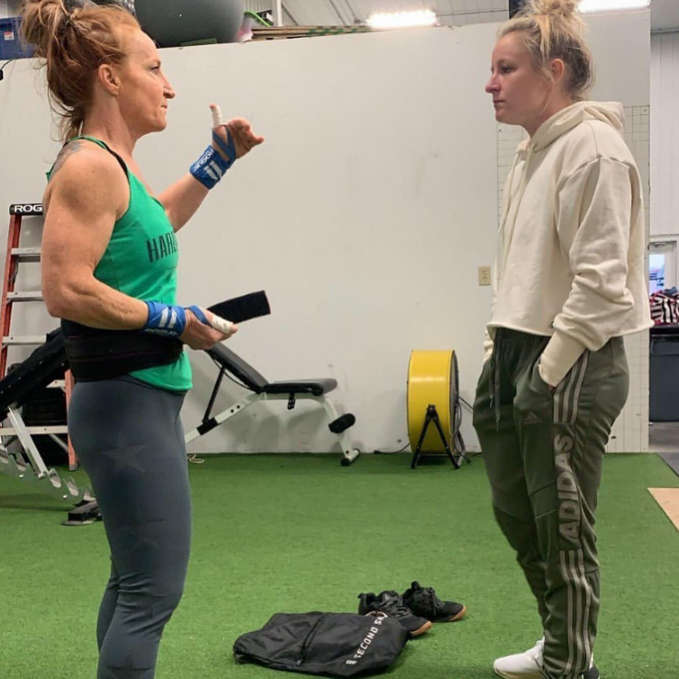 Tammi Saunders Crossfit North Phoenix At HardWodder One Trainer