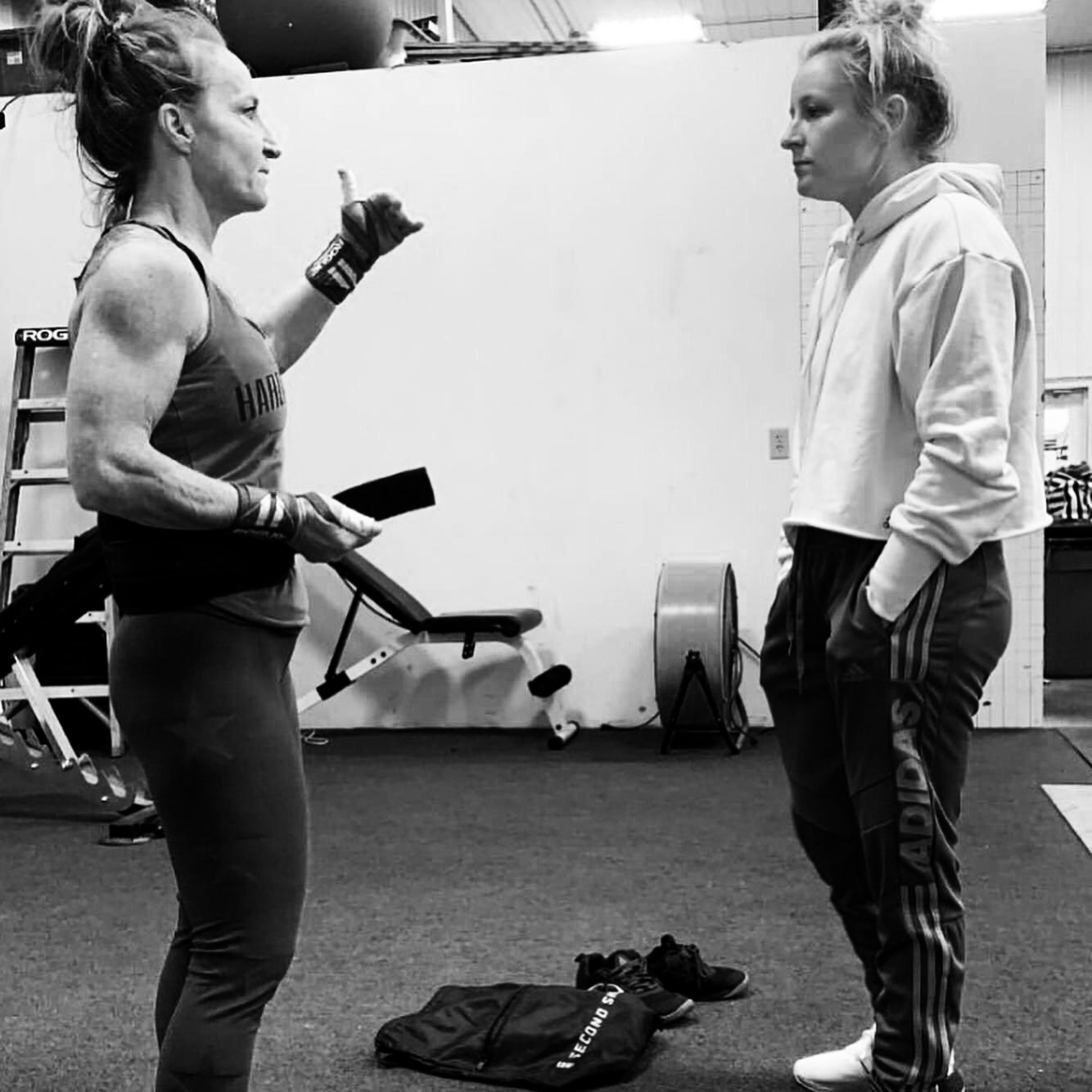 Tammi Saunders Crossfit North Phoenix At HardWodder One Trainer